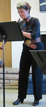 Suzanne Siebert in recital